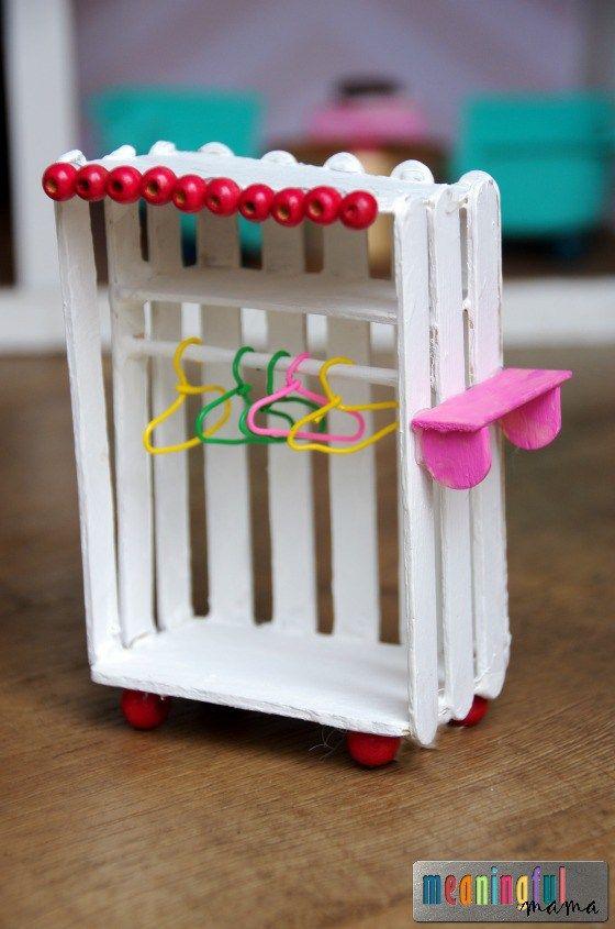 Best DIY Dollhouse Furniture #dollfurniture