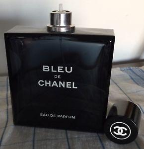 Huge Bleu De Chanel Eau De Parfum 10 Fl Oz100 Ml Empty Perfume