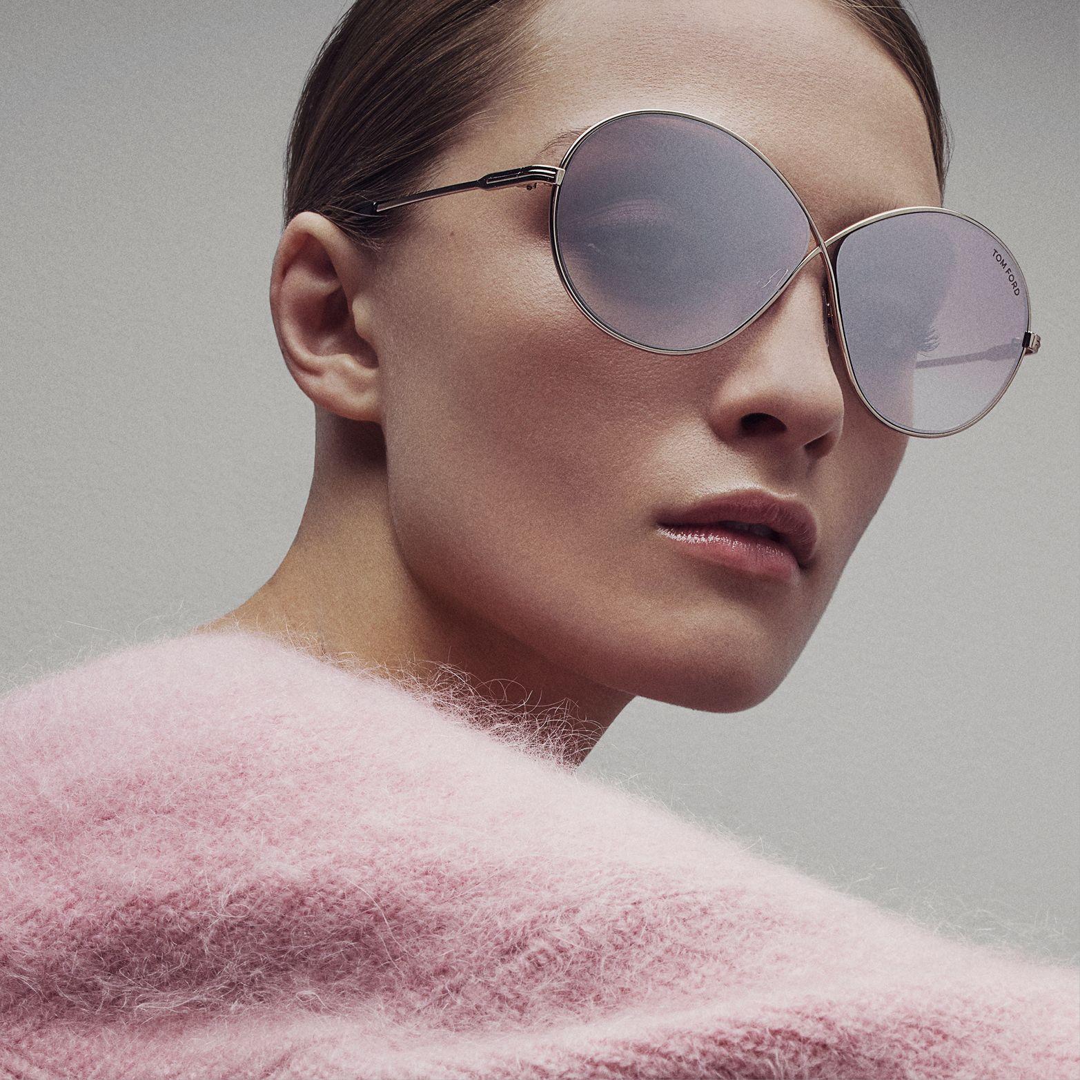 6872cb4b727 The Rania Sunglasses.  TOMFORD