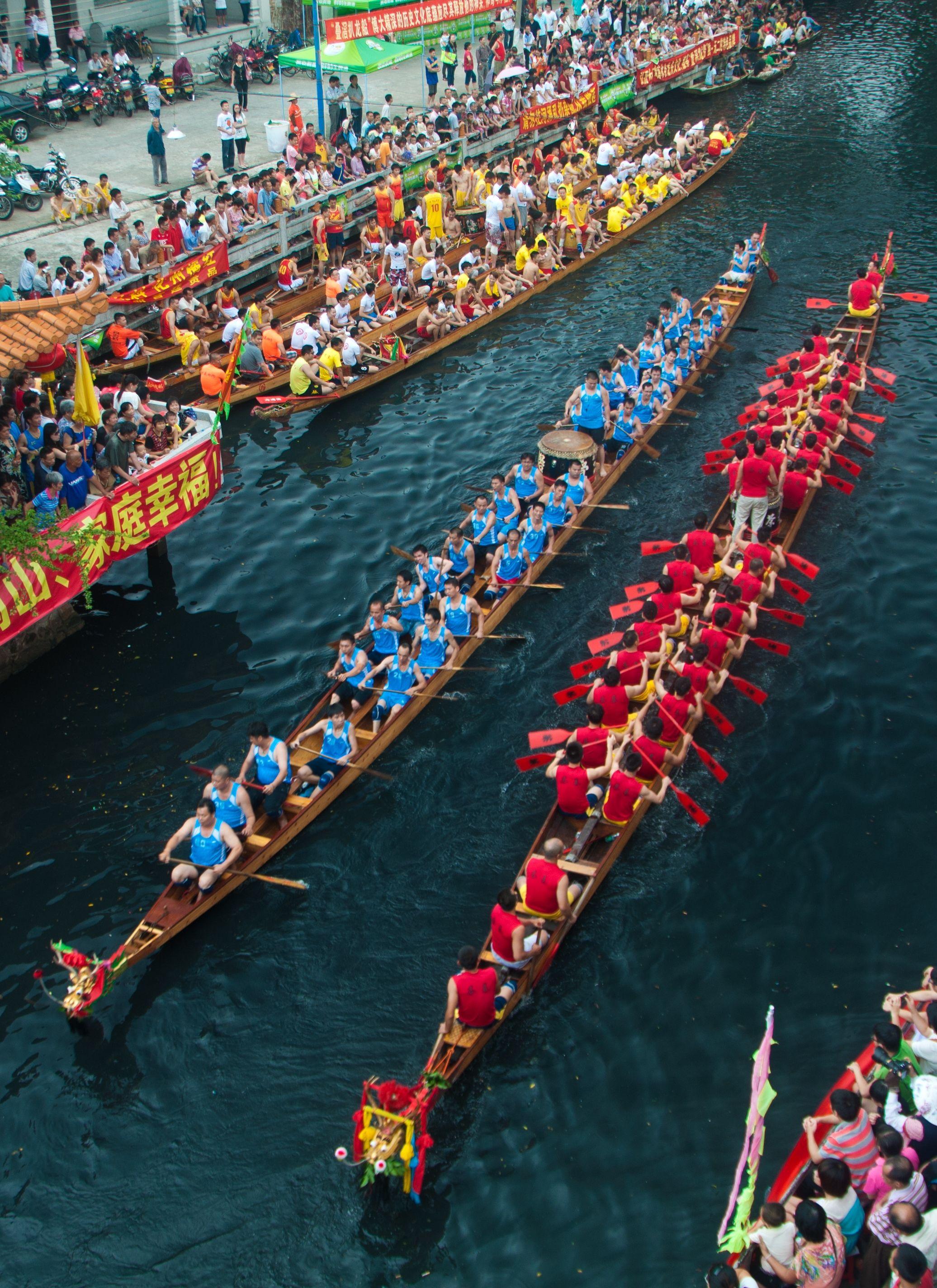 Dragon Boat Festival In China