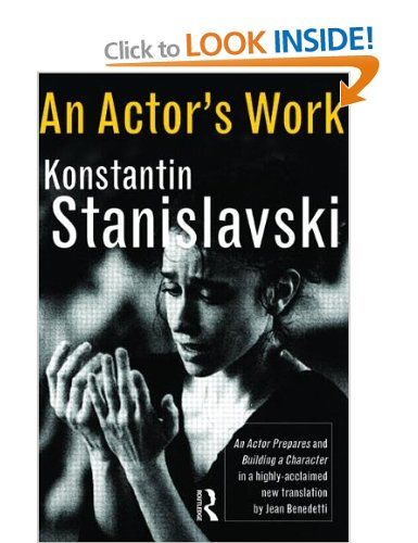 An Actor S Work A Student S Diary Amazon Co Uk Konstantin