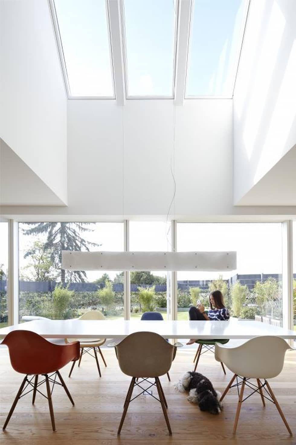Esstisch Mit Luftraum Moderne Esszimmer Von Falke Architekten Modern Homify Haus Renovierung Ideen Esszimmer Modern Modernes Esszimmer