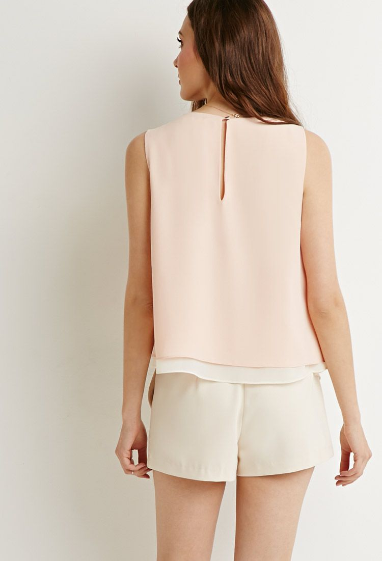 Layered Asymmetrical Top   Forever 21 - 2000155705