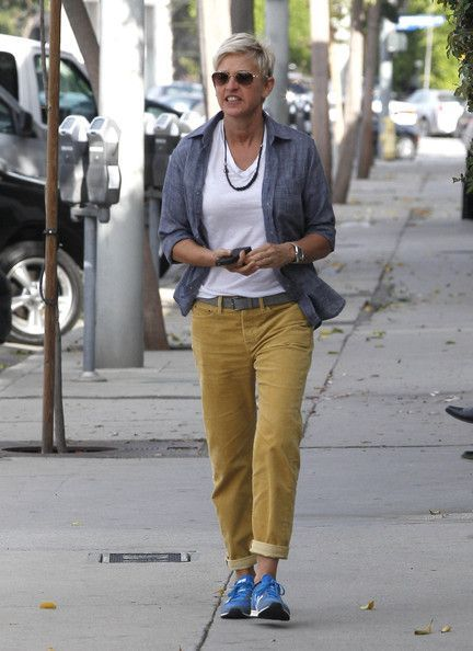 f0b976f2 Ellen DeGeneres was seen out and about in Los Angeles | Past Boards ...