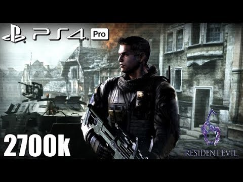 Resident Evil 6 Ps4 Pro No Mercy 2700k Steel Beast Piers 60fps