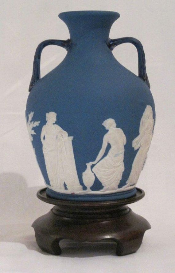 Wedgwood Jasperware Blue Portland Vase By