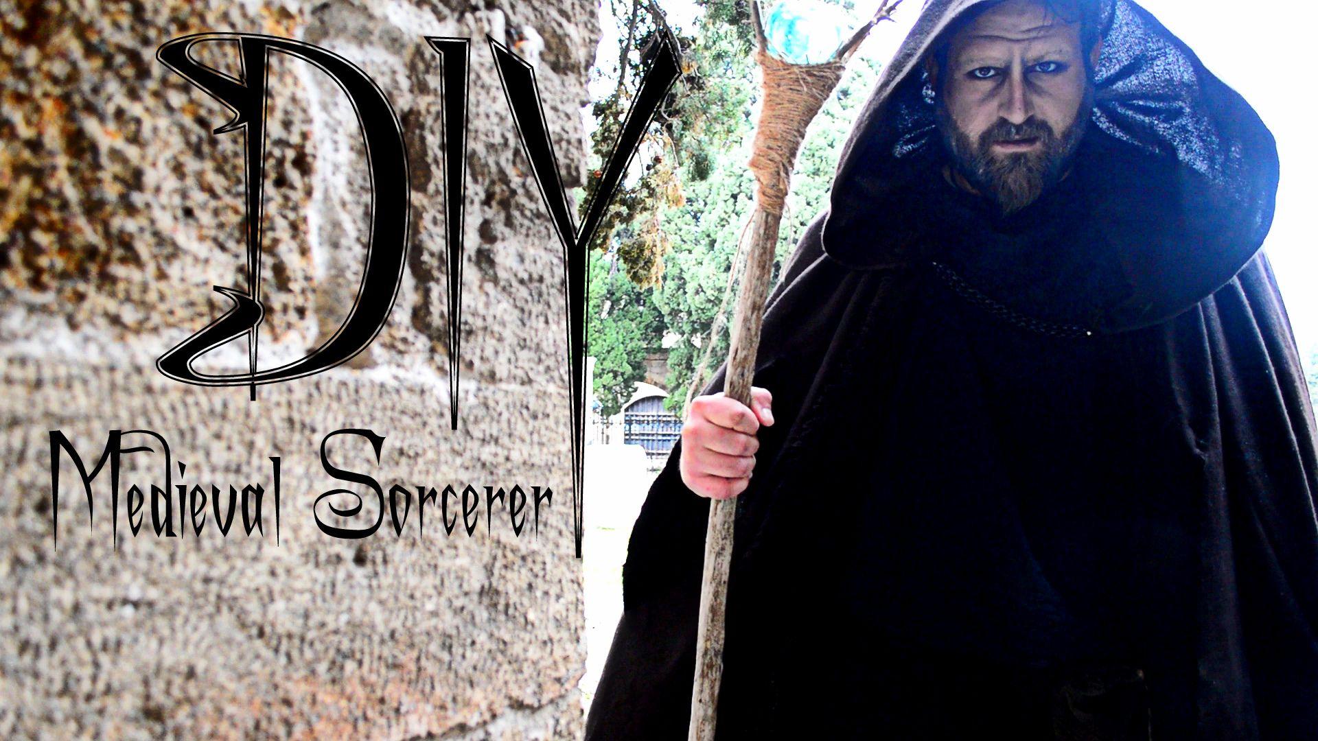 DIY Medieval style Wizard or Sorcerer or mage or necromancer ...