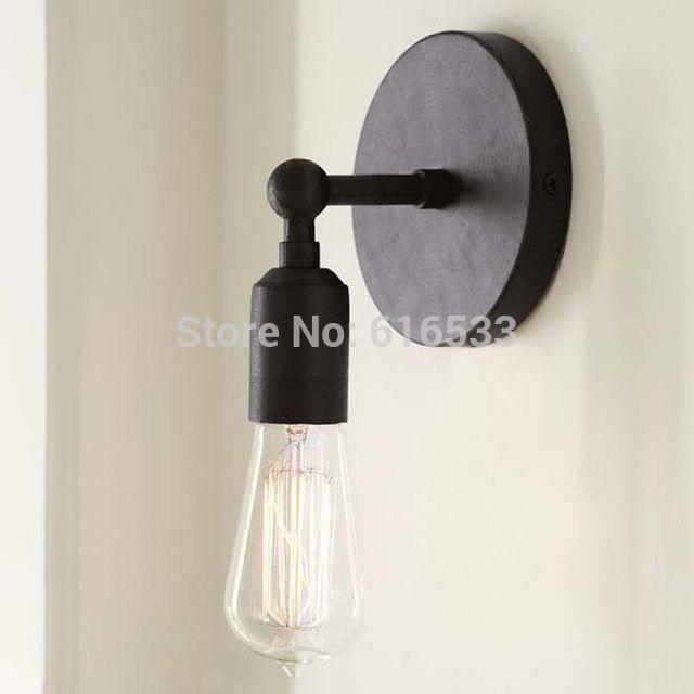 Loft Vintage Nostalgische Industrie Ameican Edison Wandleuchte Lampe Neben  Schlafzimmer Badezimmer Spiegel Wohnkultur Leuchte