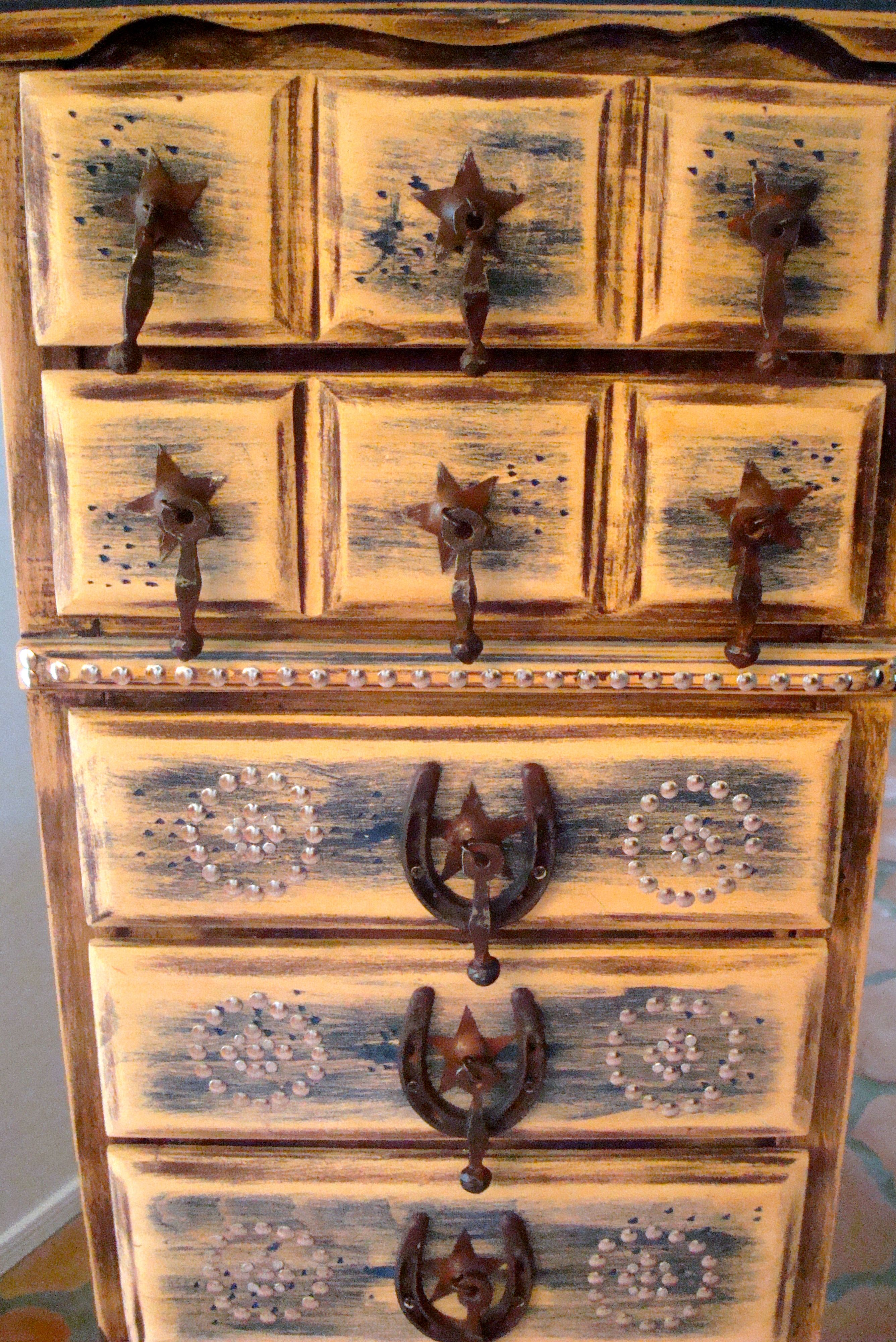 Cowboy Dresser My Pinterest Friend Lisa S Amazing Furniture Western Furniture Rustic Furniture Western Home Decor