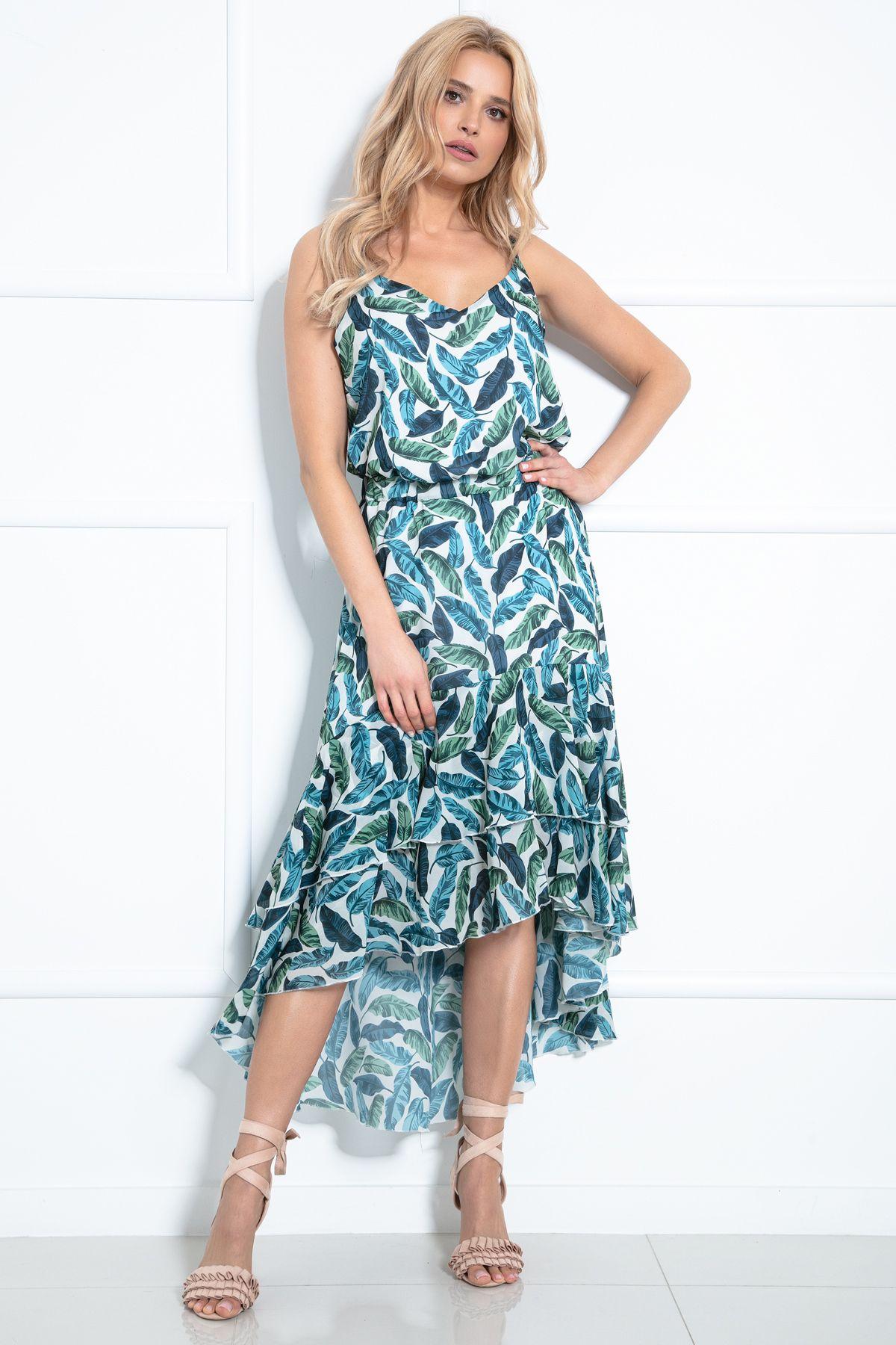 Komplet Bluzka I Dluga Spodnica F978 Fashion Dresses High Low Dress
