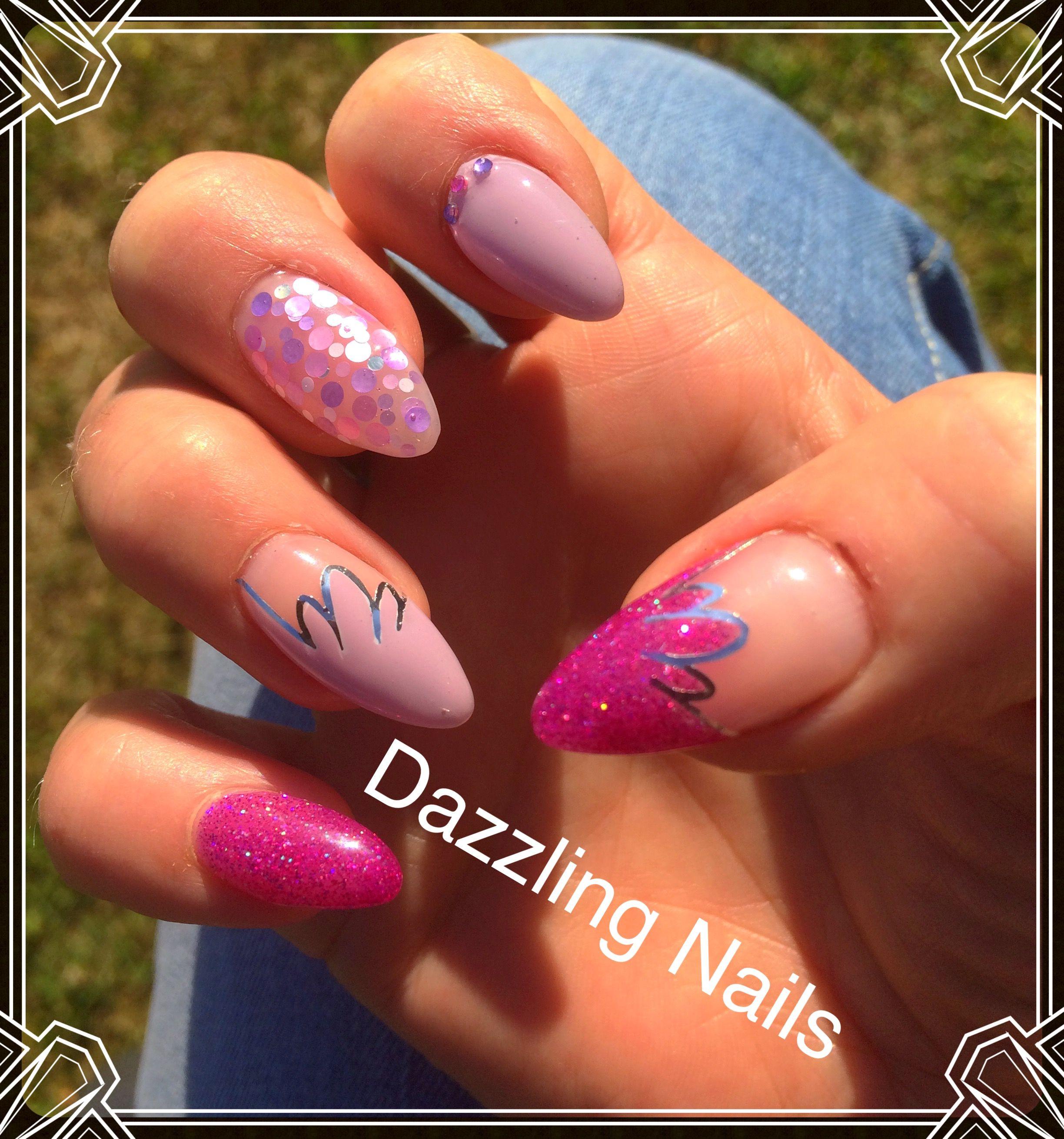 Pin by Daisy Depelseneer on Nagelstudio Dazzling Nails | Pinterest