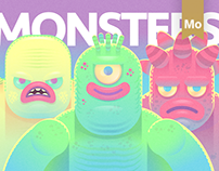 Monsters Motion Creative Professional Behance