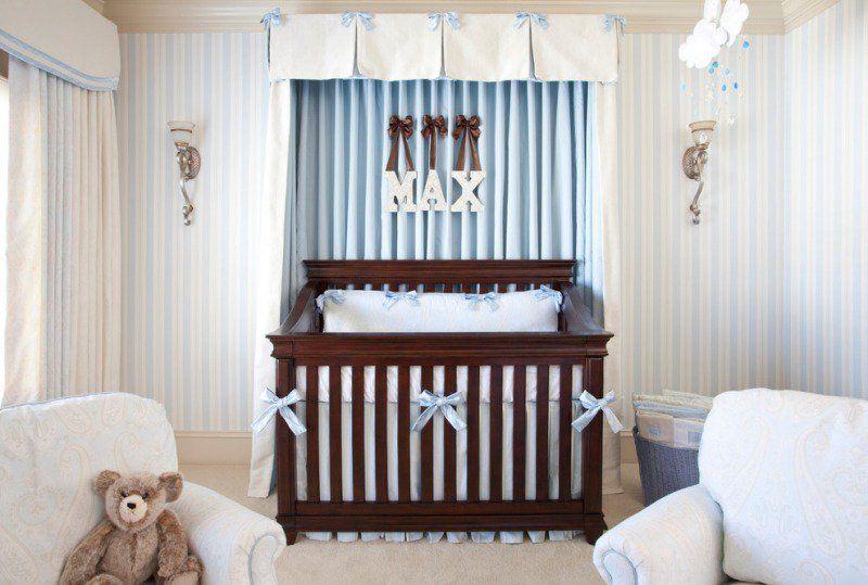 Décoration chambre bébé garçon en bleu – 36 idées cool | Chambre ...