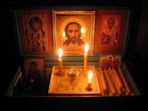 Orthodox Icon Corners:  a group on Flickr ... Peace in a Box® by []Aaroneous Monk[]