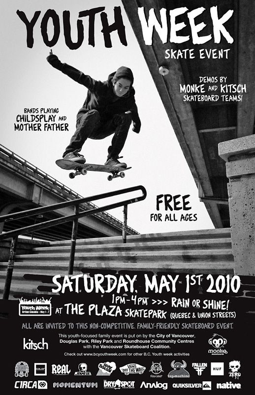 skateboard competition poster Thrasher Magazine