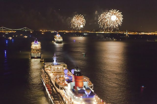 Cunard's luxury cruise ships sailing from New York