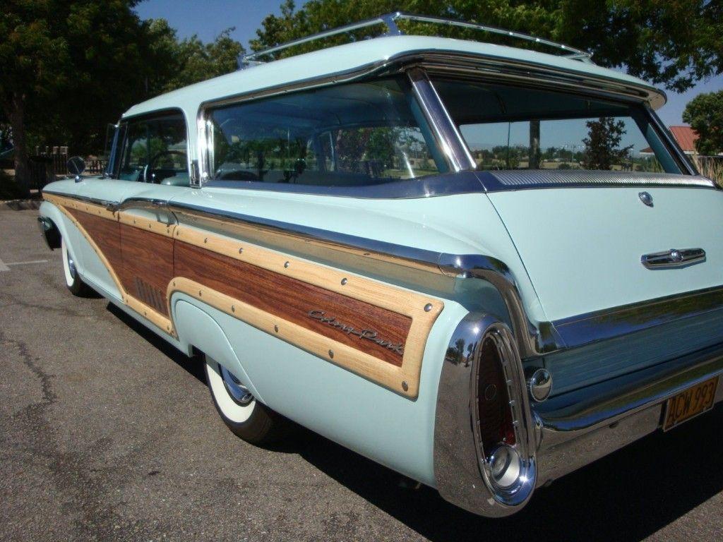 Alphabet Soup Options 1960 Mercury Colony Park Wagon Wagon Mercury Cars Woody Wagon
