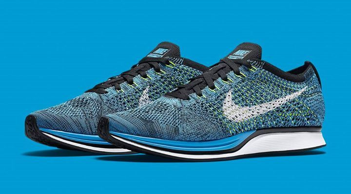 The Nike Flyknit Racer Blue Cactus is releasing in 10 minutes... http  87a0ac188a70