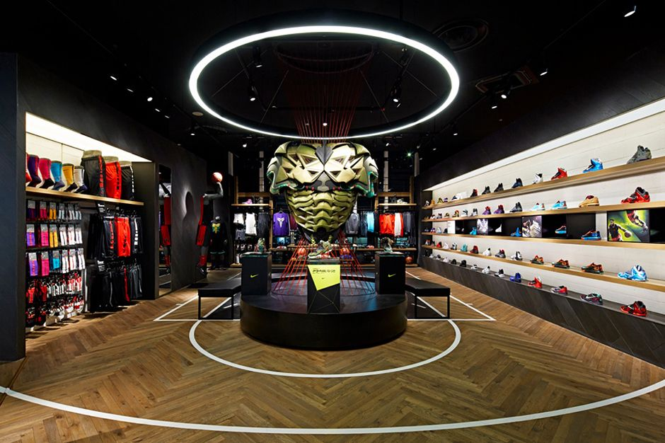 Nike Basketball Store in Japan by Specialnormal | Basketball store ...