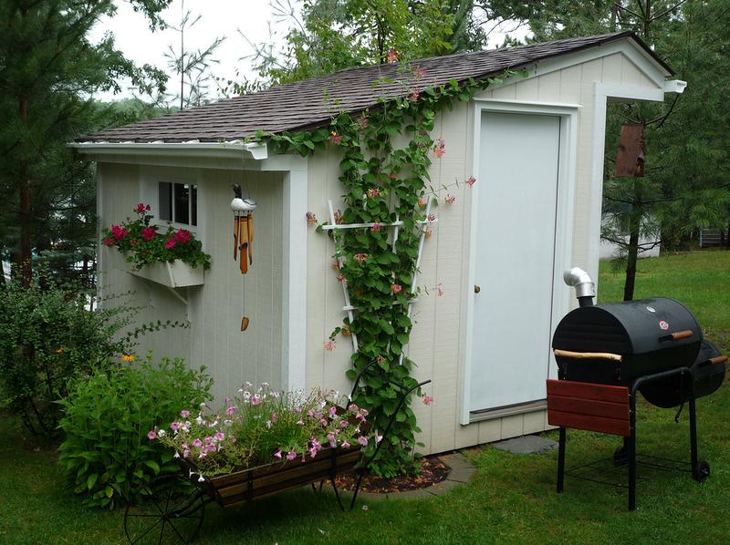 как украсить дачный домик своими руками фото примера возьмем