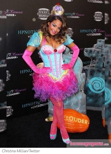 Christina Millian as The Cupcake Queen Christina Millian