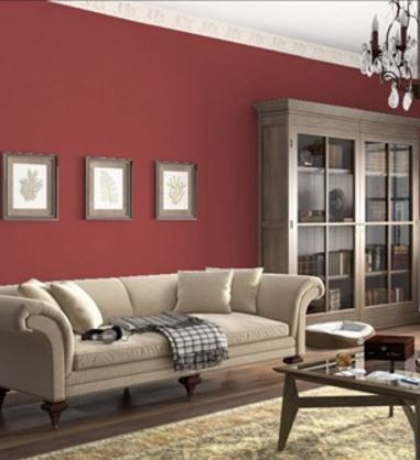 Benjamin Moore Maple Leaf Red Deep Earthy Family Rooms Room Colors