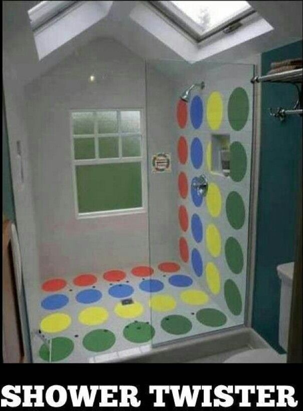 Im going to do this to my shower
