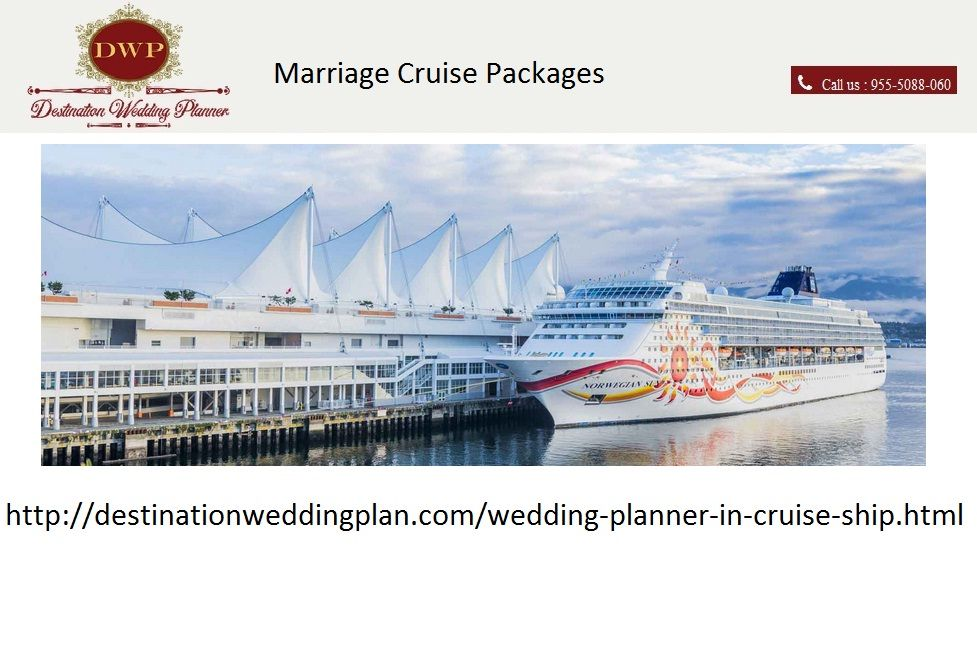Dwp Offers Best Cruise Wedding Packages In India We Able To Arrange Party With