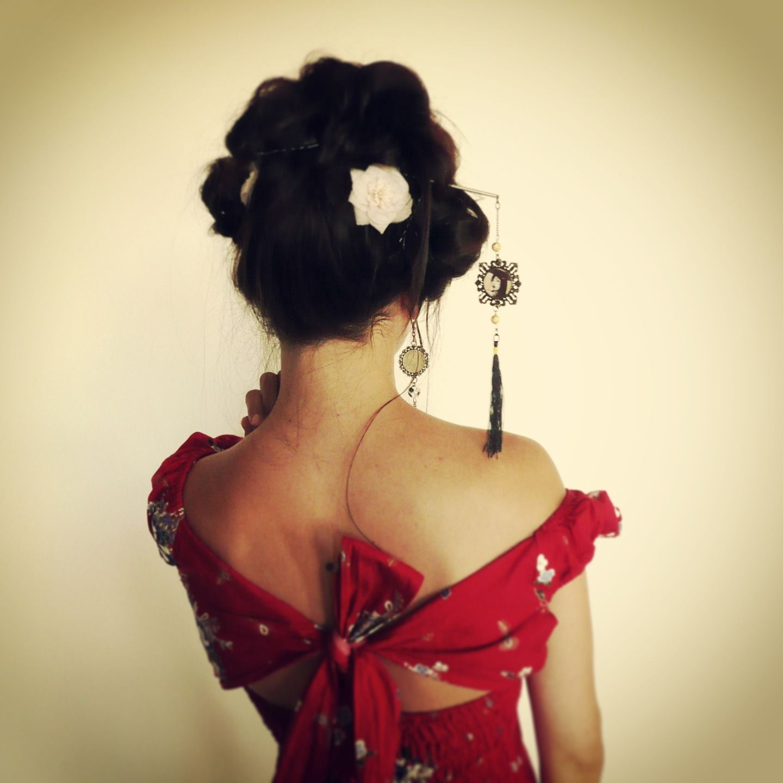 1000 Images About Pic Cheveux Japonais Esprit Geisha 39Mes Tites