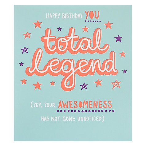 paperlink total legend birthday card birthday card online