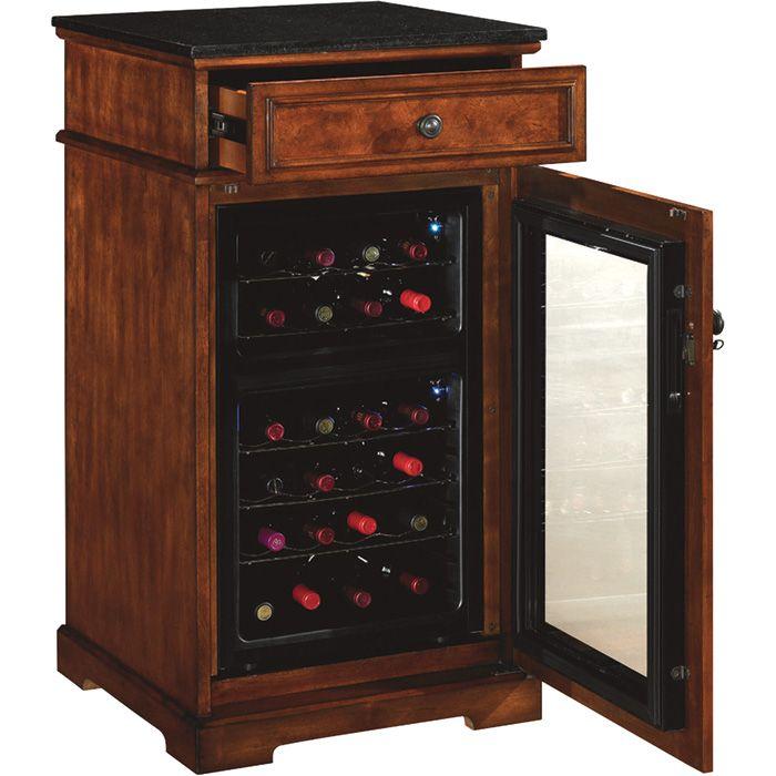 Slim Cabinet For Wine Frig Tresanti Madison Wine Cabinet