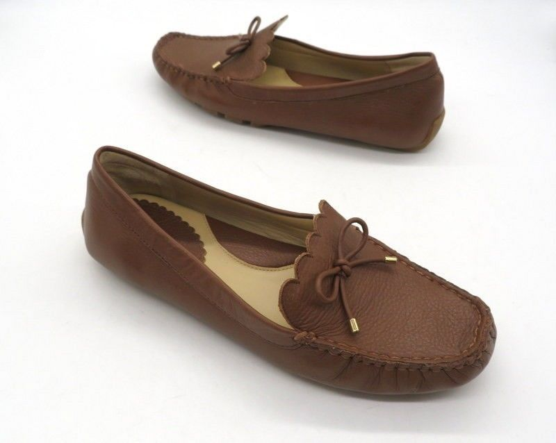 3c6b726f7bd4 LANDS END Size 8 Brown Leather Slip On Flat Shoes Loafers Drivers  fashion   clothing  shoes  accessories  womensshoes  flats (ebay link)
