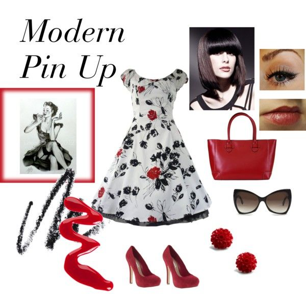"""Modern Pin Up"" by elizabeth42010 on Polyvore"