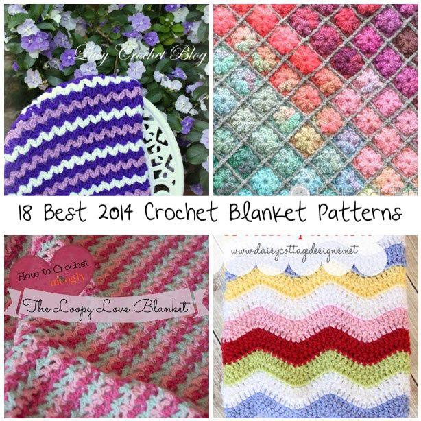 best crochet blanket patterns | Knitting/crocheting | Pinterest ...