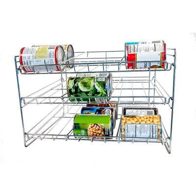 Kitchen Can Organizer Axis international chromed kitchen can organizer chrome and products axis international chromed kitchen can organizer workwithnaturefo