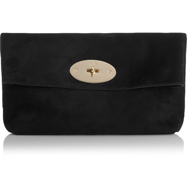 ... new zealand mulberry clemmie oversized suede clutch 16490 mxn liked on  polyvore featuring bags 41bb1 4c01a 8795570b721b3