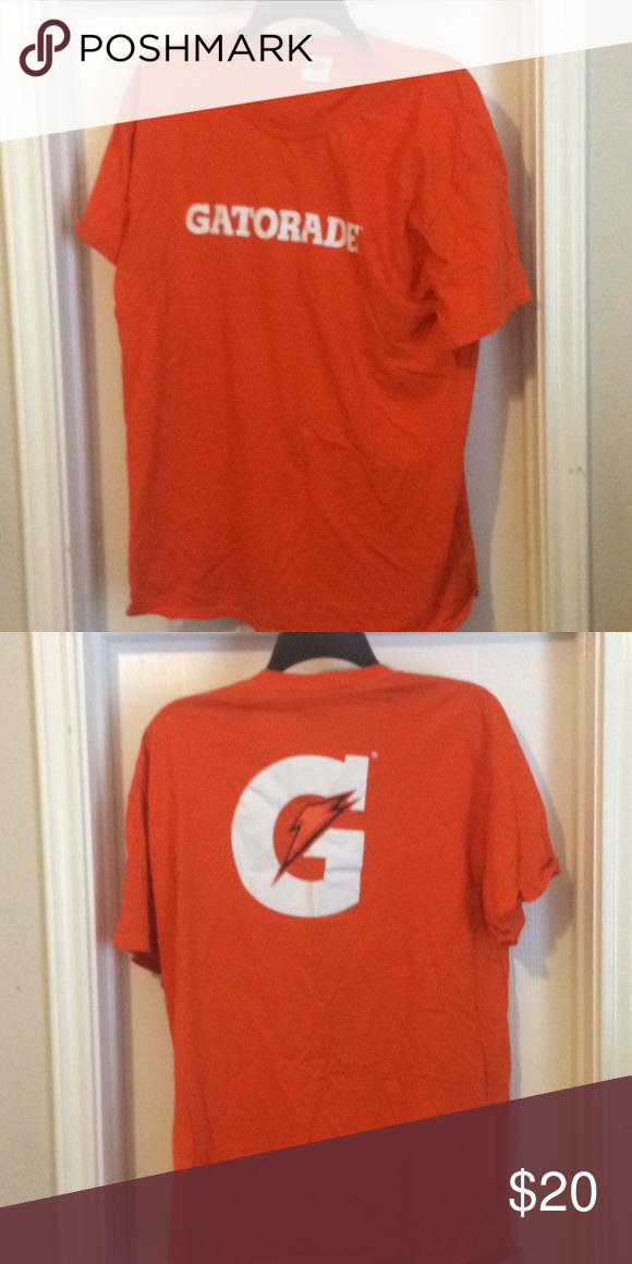 eefb68fc331 Gatorade Orange Gatorade shirt Shirts Tees - Short Sleeve | My Posh ...
