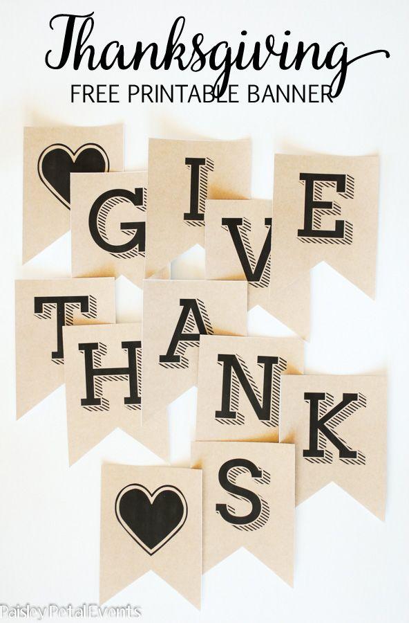 Thanksgiving Decorating Ideas MMj   Thanksgiving Banner