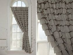 scrap-book-spaces:    dreamsicleday:    firsthome:    infinitebutterflies:(via beautiful-soup)  love these curtains    (via beautiful-soup)