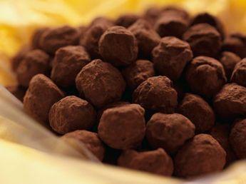 Truffes au chocolat Cyril Lignac #truffesauchocolat Truffes au chocolat Cyril Lignac #truffesauchocolat