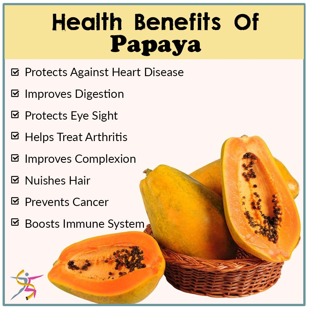 health benefits of eating papaya:#healthyfruit #boostimmune