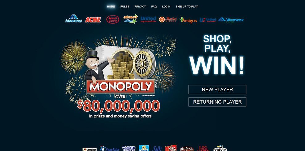 Playmonopoly us login