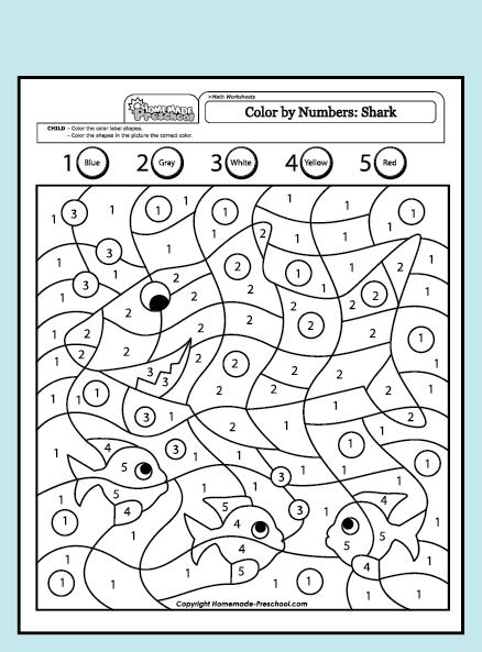 Fun And Interactive Preschool Worksheets Kindergarten Colors Coloring Worksheets For Kindergarten Math Coloring Worksheets