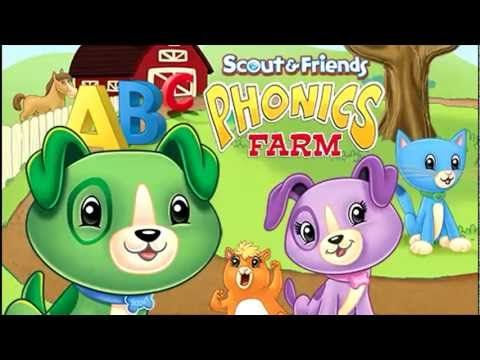 Leapfrog Learning Dvd Scout Friends Phonics Farm Youtube Kids Education Phonics Kids Shows