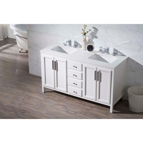59 bathroom vanity double sink. Online Furniture  Stufurhome Emily 59 Inch Double Sink Bathroom Vanity 1620 9 3 17