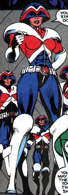 Justicer Bull - Captain Britain Corps