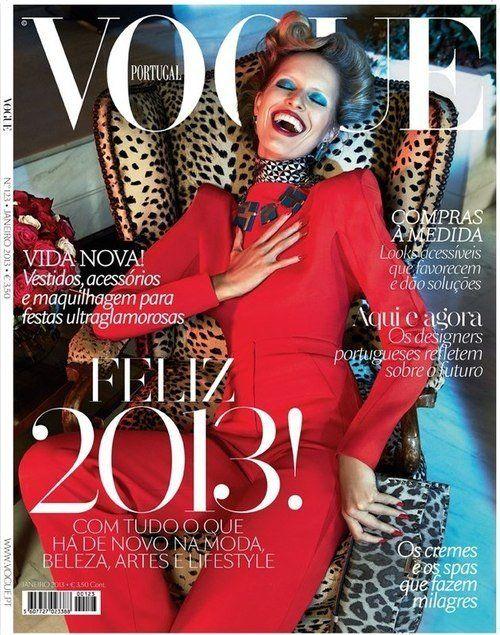 Vogue Portugal January 2013 //  Karolina Kurkova