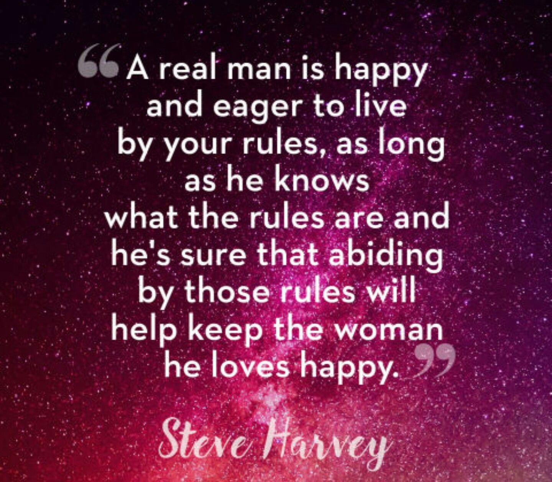 Steve harvey advice for women
