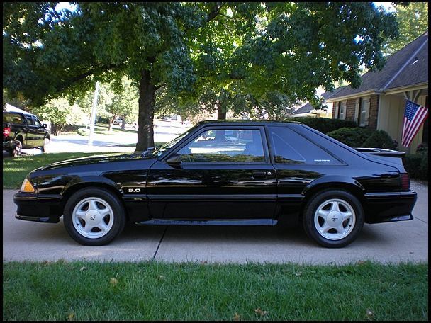 91 Mustang Gt >> Black 91 Ford Mustang Gt My Favorite Car Cool Cars I