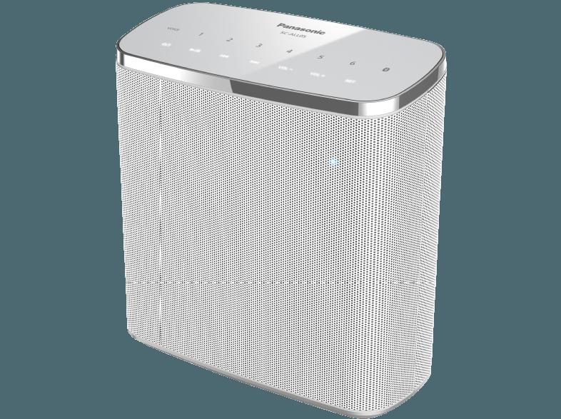 Panasonic Sc All05 Streaming Lautsprecher App Steuerbar Bluetooth Weiss 05025232851560 Kategorie Tv Aud Bluetooth Bluetooth Lautsprecher Lautsprecher